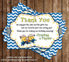 The Minions -Despicable Me Birthday Thank You Card