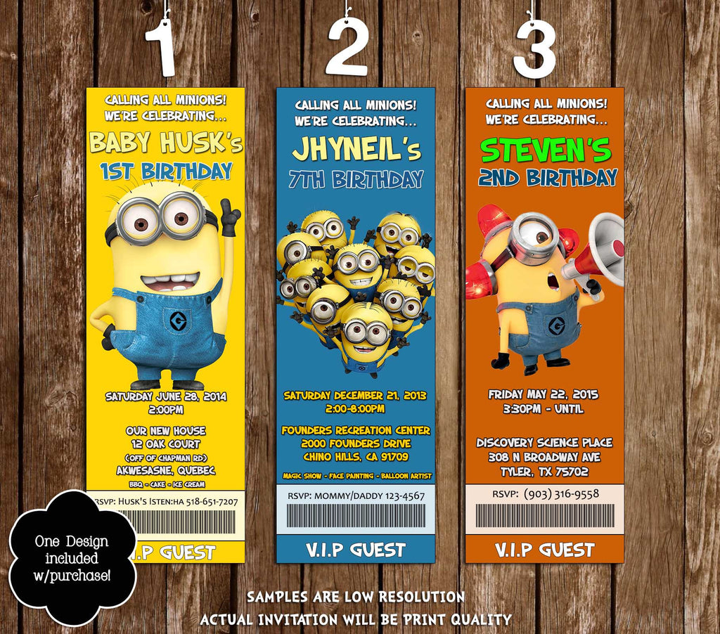 Novel Concept Designs - Despicable Me Movie Birthday ...