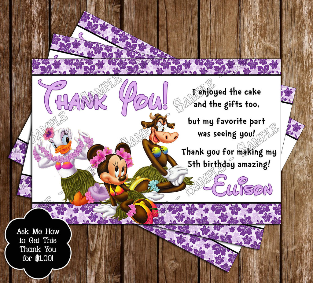 Novel Concept Designs - Disney Mickey Mouse BBQ Birthday Party ...