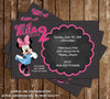 Disney Minnie's Bowtique Birthday Thank You Card