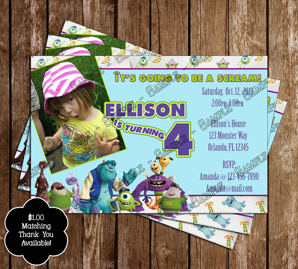 Novel Concept Designs - Monsters Inc / University Birthday Party ...