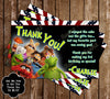 Muppets Movie Birthday Party Ticket Invitation