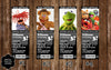 Muppets Movie Birthday Party Invitation