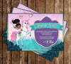 Nella the Princess Knight - Birthday Party - Thank You Card