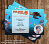 Disney Finding Nemo Movie Birthday Party Invitation