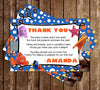 Finding Nemo - Our Little Fish - Baby Shower Thank You Card
