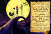 Nightmare Before Christmas - Baby Shower - Invitation