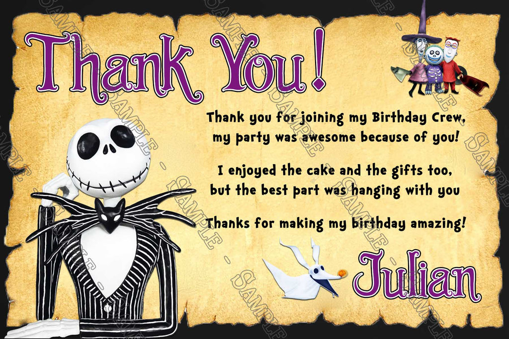 Novel Concept Designs - The Nightmare Before Christmas - Birthday ...