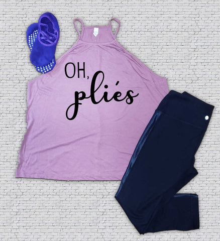 Oh Pliés - Barre - Workout - Shirt