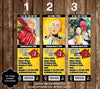 One Punch Man Anime Birthday Party Ticket Invitations