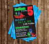 Disney Jr - PJ Masks - Superhero - Birthday Invitation