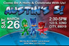 Disney Jr - PJ Masks - Superhero - Red - Birthday Invitation