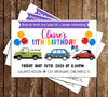 Birthday Parade - Girl - Party - Invitation