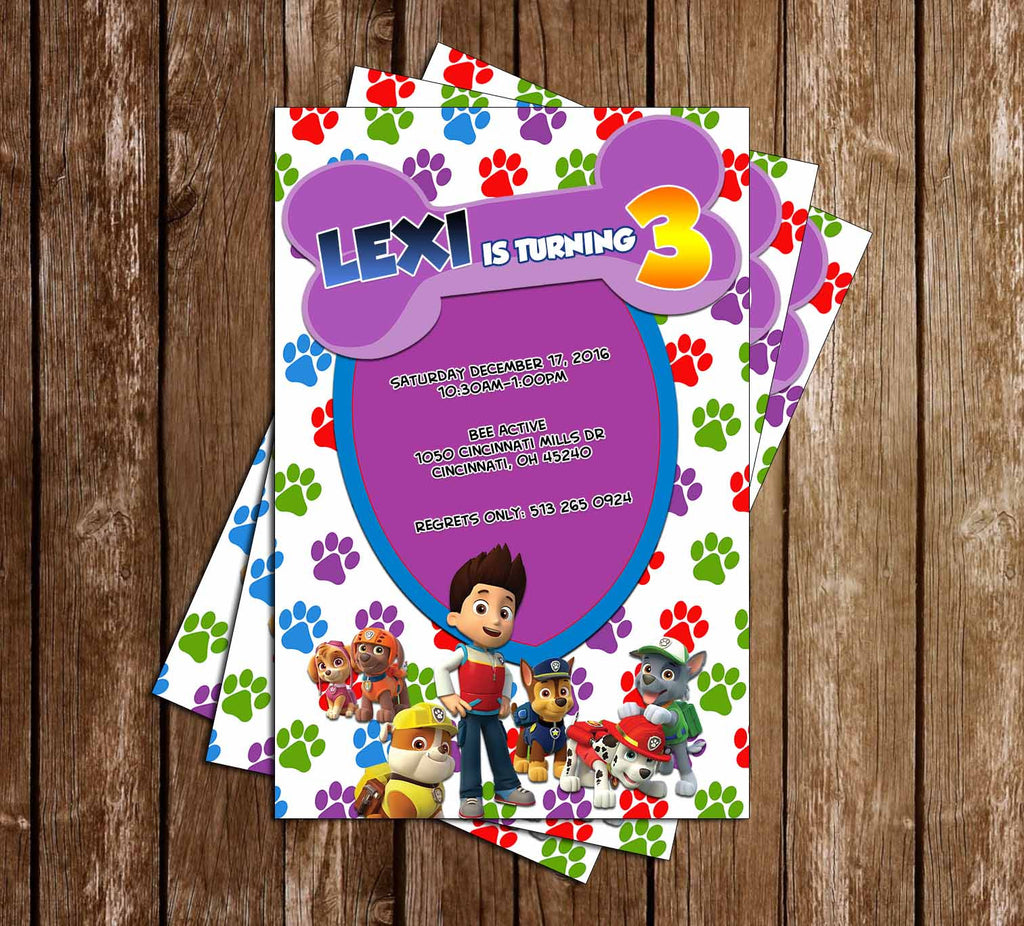 Novel Concept Designs - PAW Patrol - Nick Jr - Girl - Birthday Party ...