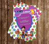 PAW Patrol - Nick Jr - Girl - Birthday Party Invitations