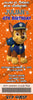 Paw Patrol Birthday Party Ticket Invitations