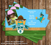 Disney's Phineas and Ferb Perry the Platypus Birthday Invitation