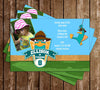 Perry the Platypus Birthday Invitation