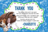 Secret Life of Pets Movie Ticket Animals Birthday Party Invitation