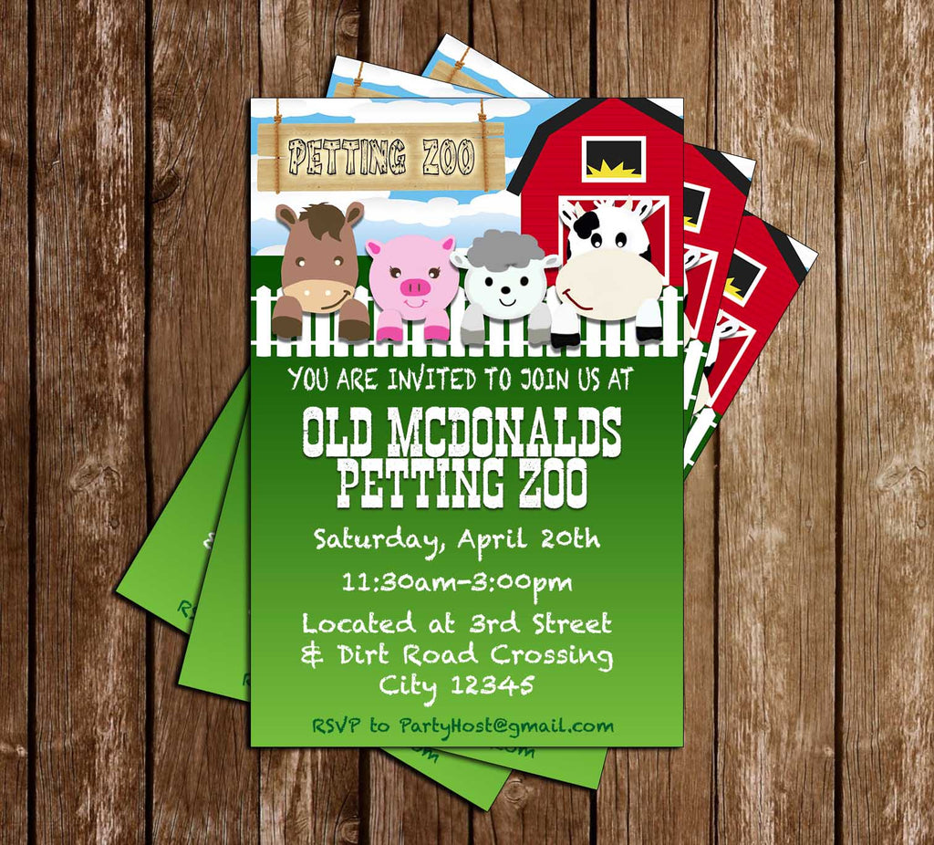 Novel Concept Designs Petting Zoo Animals Birthday Party