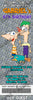 Phineas and Ferb Ticket Birthday Invitation