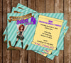 Disney's The Pirate Fairy Birthday Party Invitation