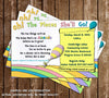 Oh, The Places You'll Go Baby Shower Invitation