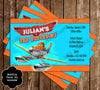Planes Movie Birthday Thank You Card