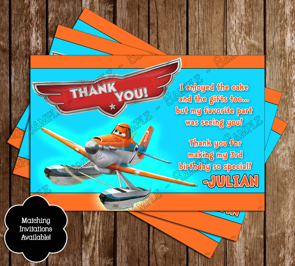Novel Concept Designs - Disney\'s Planes Birthday Party Invitation