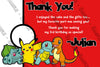 Pokemon GO Teams Birthday Party Ticket Invitations