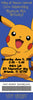 Pokemon Show Birthday Party Ticket Invitations