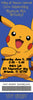 Pokemon Birthday Party Ticket Invitations