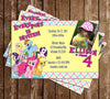 My Little Pony Birthday Party Invitation with Photo