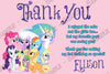 My Little Pony - Purple -  Birthday Party - Invitation