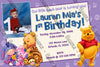 Winnie the Pooh - 1st Birthday - Birthday Invitation