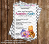 Winnie the Pooh - Gender Neutral - Baby Shower Invitation