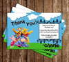 Winnie the Pooh and Friends Movie Thank You Card