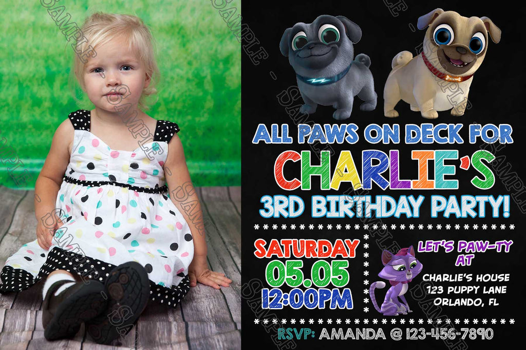Novel Concept Designs Puppy Dog Pals Disney Jr Birthday Party