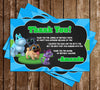 Puppy Dog Pals - Tall Chalkboard - Birthday Party Invitations