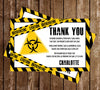 Quarantine - Yellow - Baby - Shower - Invitation