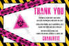 Quarantine - Pink - Birthday - Party - Invitation