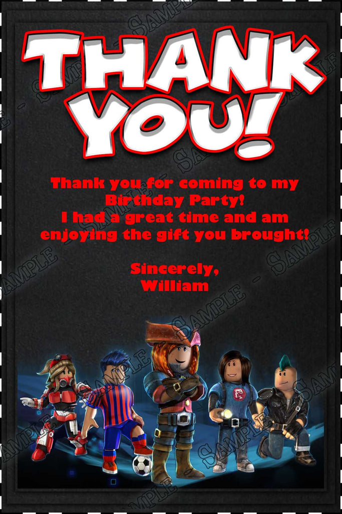 roblox birthday party game