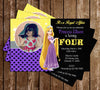 Disney Princess Rapunzel - Tangled Movie - Birthday Invitations