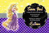 Disney Princess Rapunzel - Tangled Movie - Birthday Thank You Cards