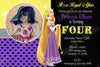 Disney Princess Rapunzel - Tangled Movie - Birthday Invitation