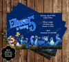 Rio 2 Birthday Party Ticket Invitations