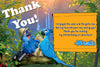 Rio 2 Birthday Thank You Card