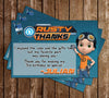 Rusty Rivets - Nick Jr - Birthday Party - Thank You Card