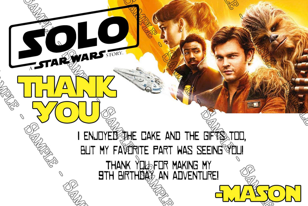 novel concept designs solo star wars movie birthday party