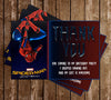 Spiderman Homecoming - Movie - Birthday Party - Thank You Card